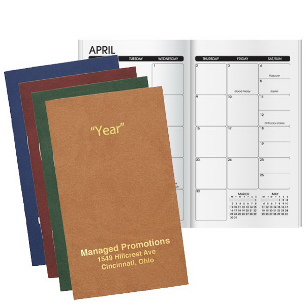 Printed Seam Soft Monthly Planner