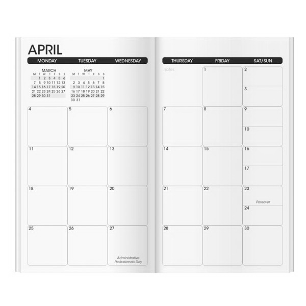 Personalized Work Monthly Planner