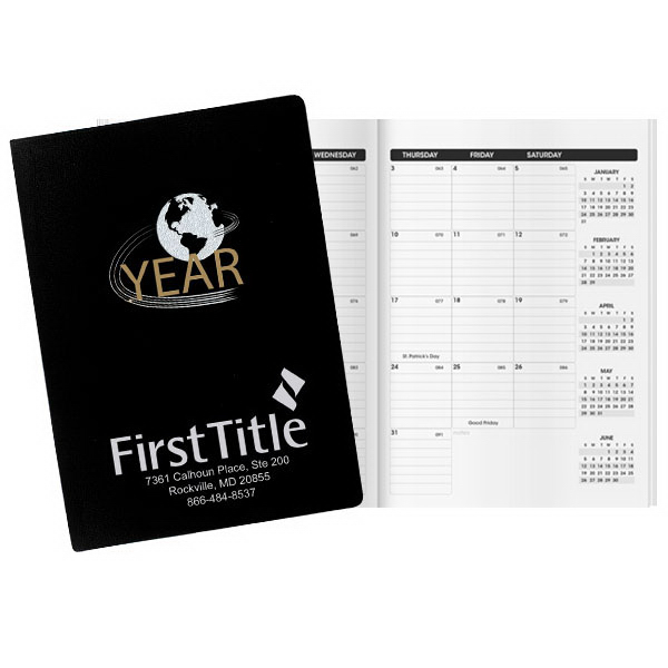 Promotional Inspire World Deluxe Classic Monthly Planner