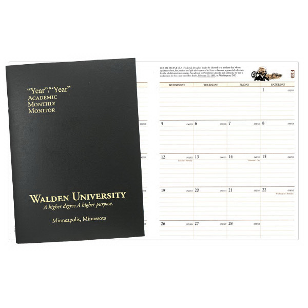 Customized Academic Monitor 7 x 10 Planner