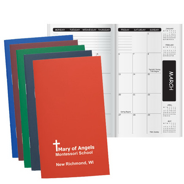 Customized Academic Pocket Planner