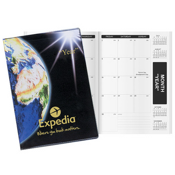 Custom Inspire Global Deluxe Academic Monthly Planner