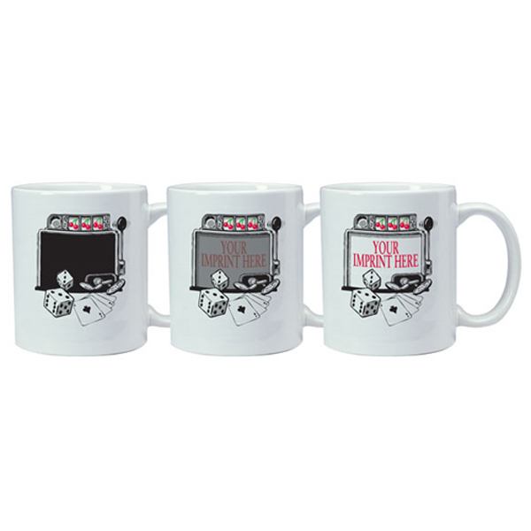 Printed Magic Mug - Slot Machine