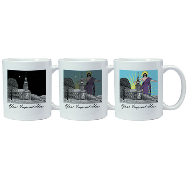 Custom Magic Mug - Church