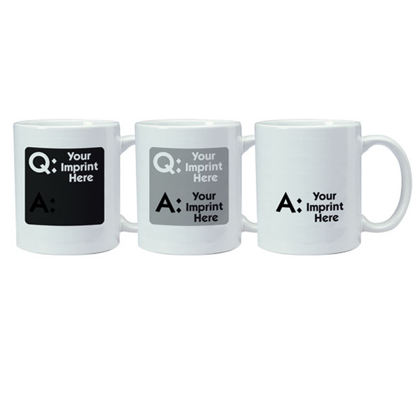 Customized Magic Mug - Question/Answer
