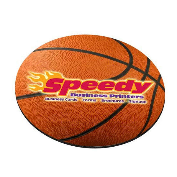 Custom Standard Shape Mousepad - Basketball