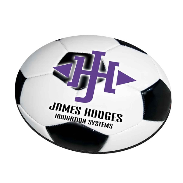 Personalized Standard Shape Mousepad - Soccer