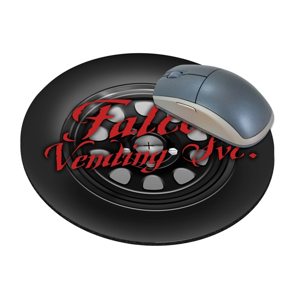 Customized Standard Shape Mousepad - Tire