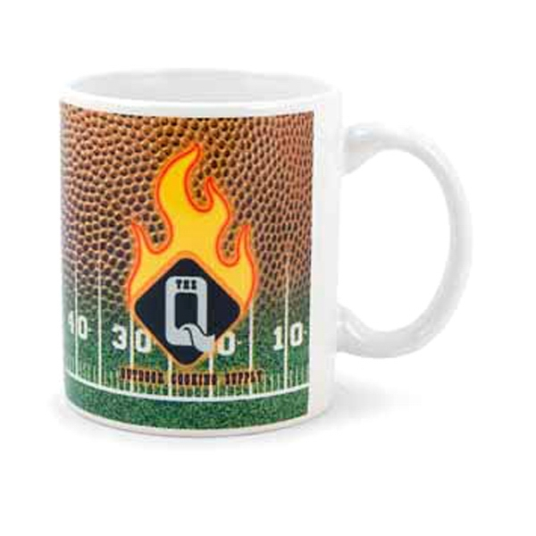 Promotional 11 oz. Football Mug