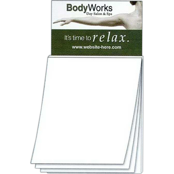 Promotional Magna-Pad Business Card Magnet - BLANK Sheet (50 Sheet)
