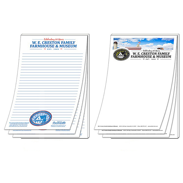 "Personalized Scratch Pad - 50 Sheets - 5.5"" x 8.5"""