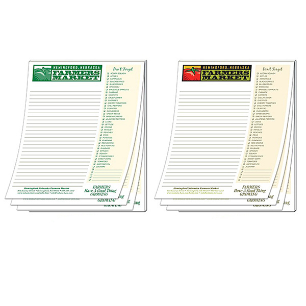 "Personalized Scratch Pad - 50 Sheets - 8.5"" x 11"""