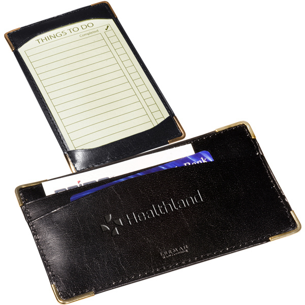 Personalized Leeman New York Bliss Jotter Pad Holder