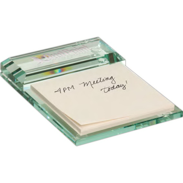 Promotional Atrium Glass Message Pad Holder