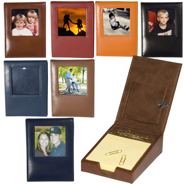Personalized Soho Memo Pad Desk Frame