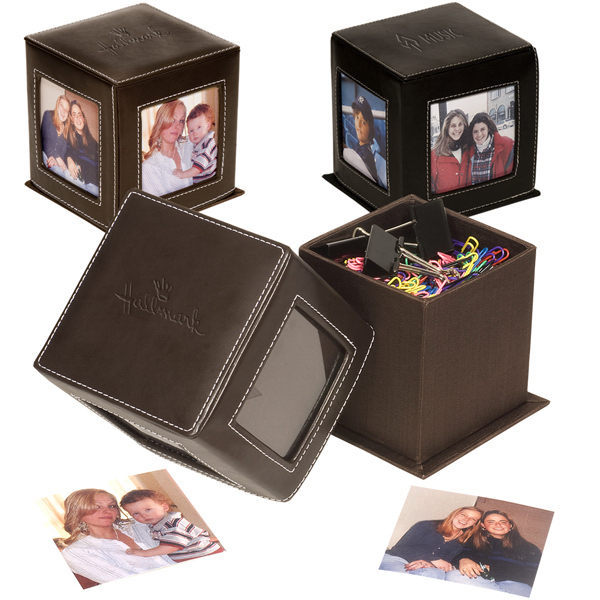 Imprinted Lexington Photo Cube