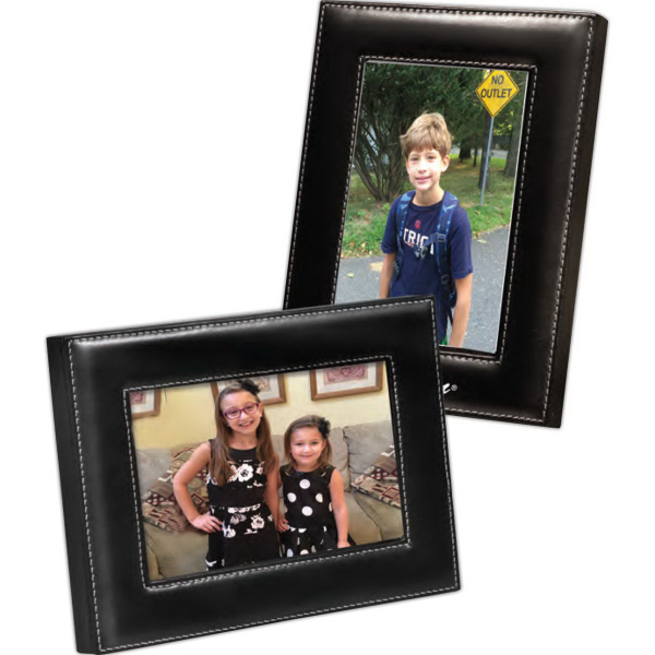 Personalized Madison Leather Frame