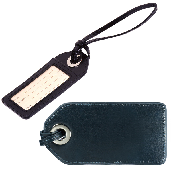 Promotional Leeman New York Webster Grommet Luggage Tag