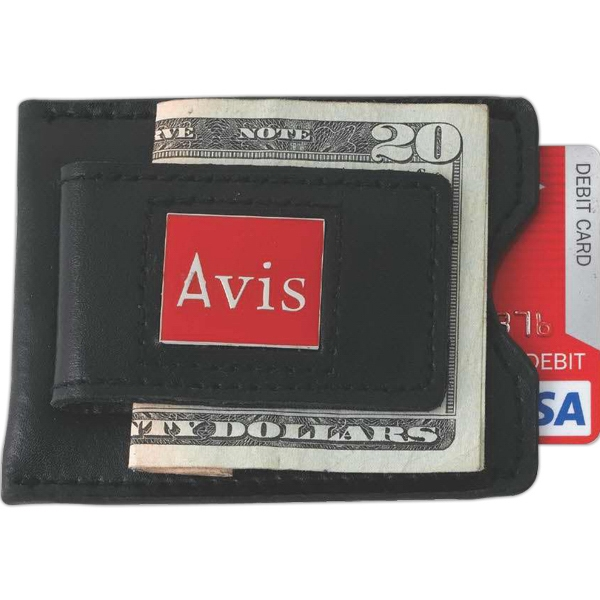 Printed Magnetic money clip/card case