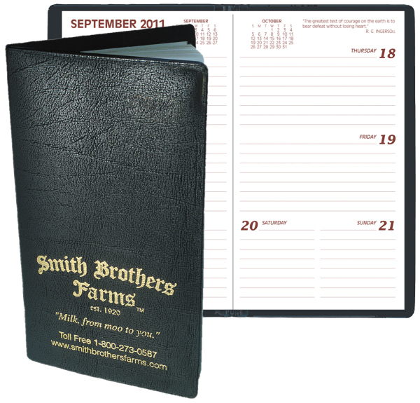 Printed Pocket Planner