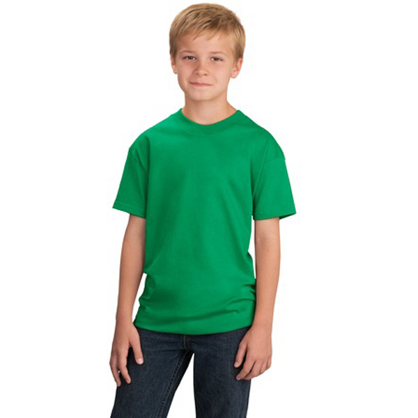 Promotional Port & Company® youth 5.4 0z 100% cotton t-shirt