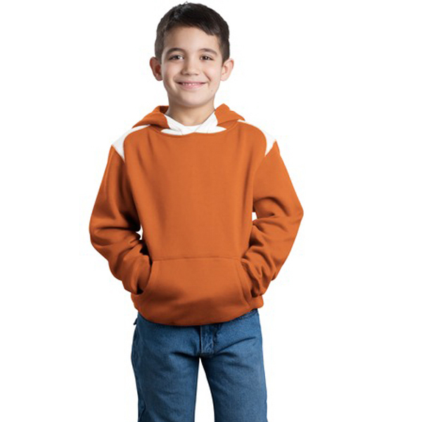 Custom Sport-Tek® youth hooded sweatshirt