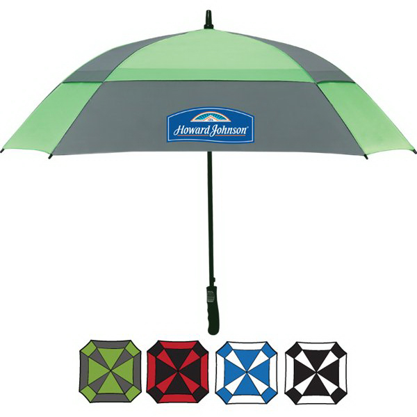 "Imprinted 60"" Square Golf Umbrella"