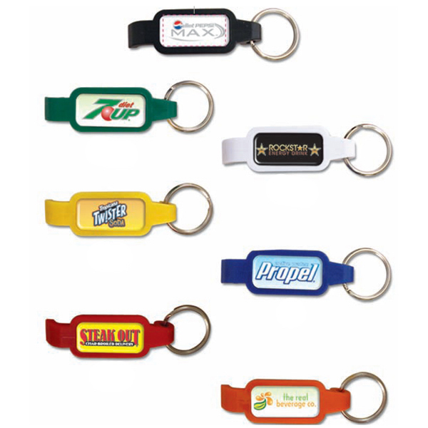Personalized Bottle Opener Key Tag
