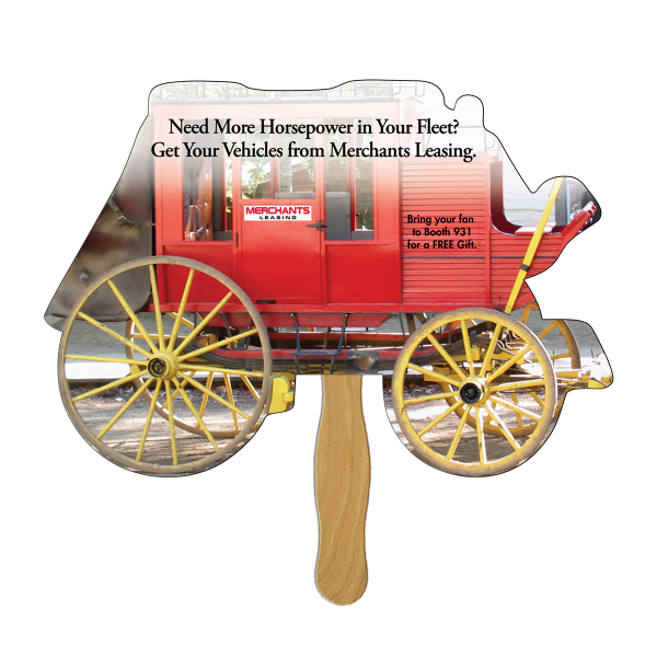Customized Stagecoach offset fan