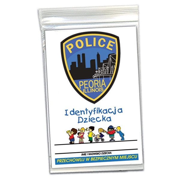 Imprinted Child ID Kit - polish