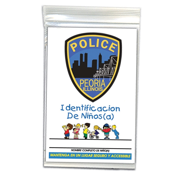 Printed Child ID Kit - Spanish