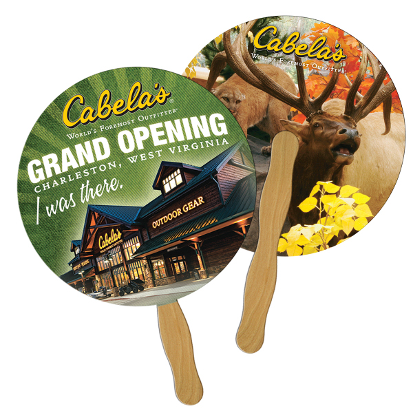 Personalized Round/Ball fast fan