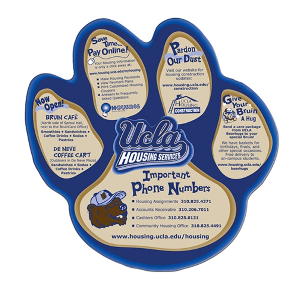 Customized Paw hand fan without stick