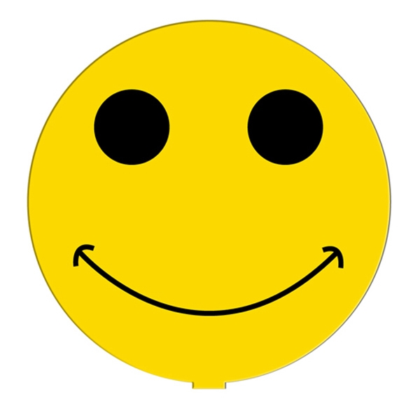 Promotional Smiley Face fan without stick
