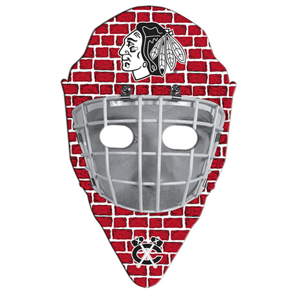 Printed Hockey Mask fan without stick
