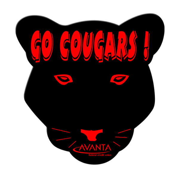 Custom Cougar fan without stick