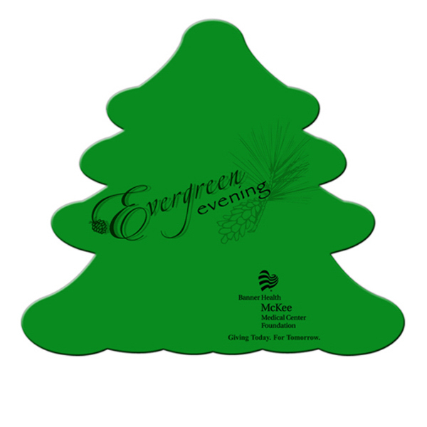 Custom Evergreen Tree fan without stick