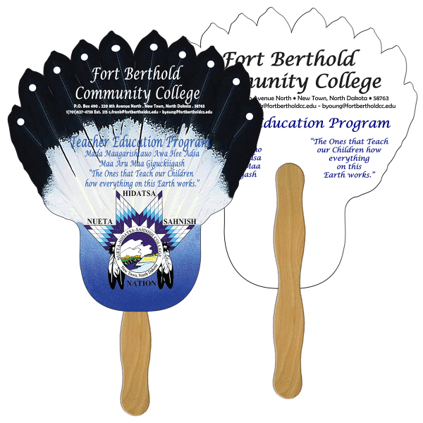 Customized Feather full color fan