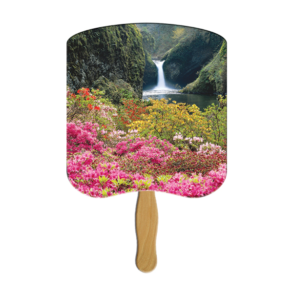 Customized Flower Garden image fan