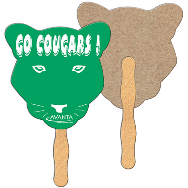 Custom Cougar recycled fan