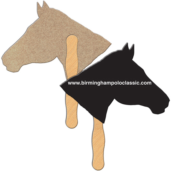 Promotional Horse recycled fan
