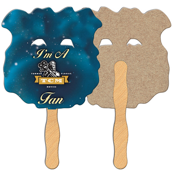 Promotional Bear recycled fan