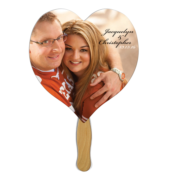 Personalized Heart Fan