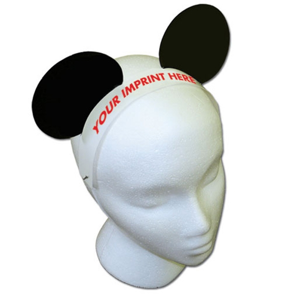 Promotional Mouse Ears with Elastic Band