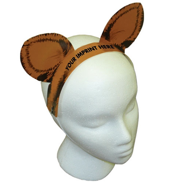 Customized Tiger Ears with Elastic Band