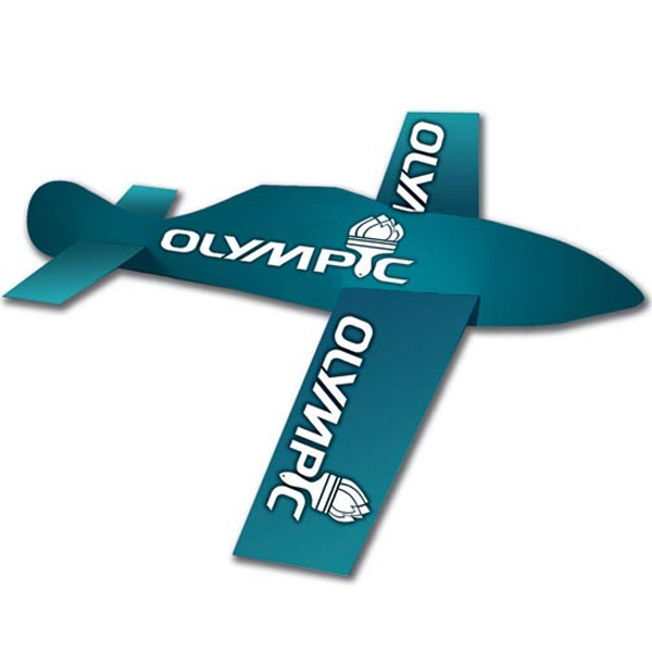Personalized Glider Paper Airplane