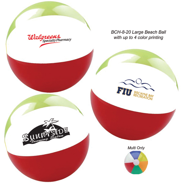 Personalized Large Beach Ball