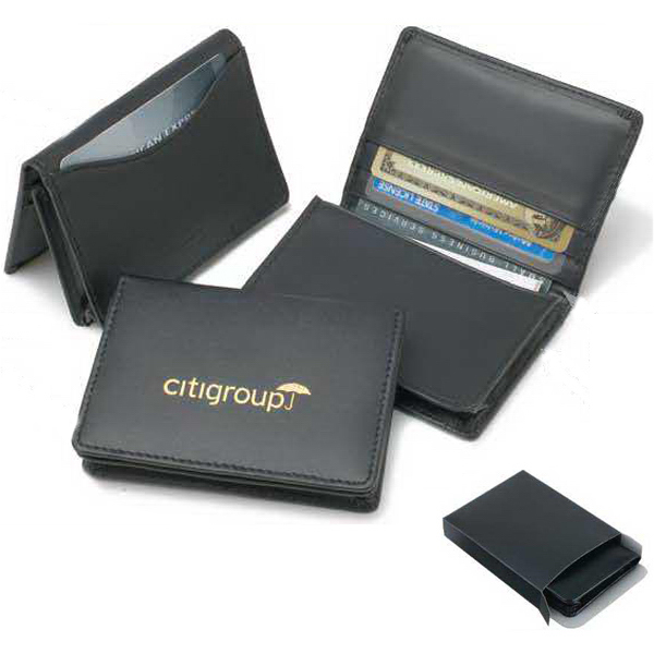 Customized Bonded Leather Executive Card Wallet