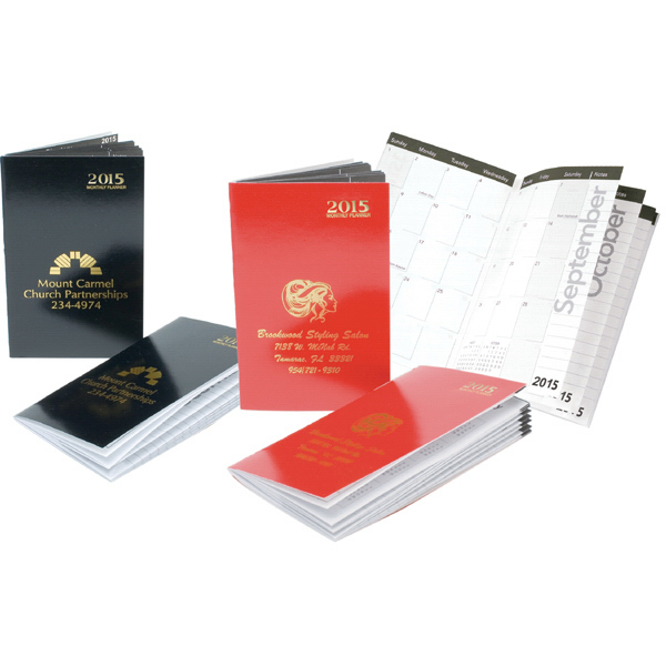 Personalized Monthly Pocket Planner