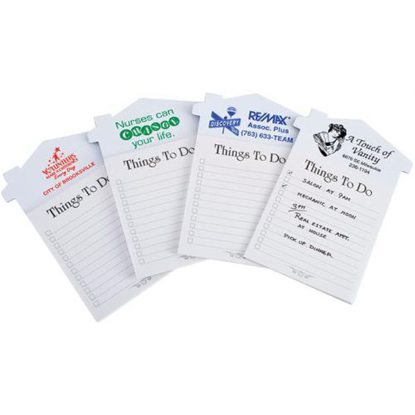 Imprinted Home Reminder - Magnetic Note Pad